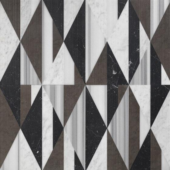 Opus | Tangram smoking di Lithos Design | Lastre pietra naturale