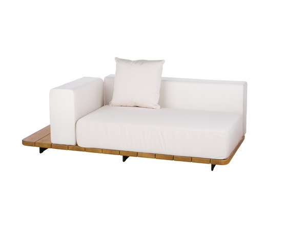 Pal DOUBLE SEAT & BACK + RIGHT ARM TO LEFT by Point | Sofas