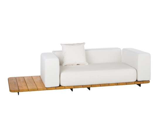 Pal RIGHT COMPLETE SOFA 2 by Point | Garden sofas