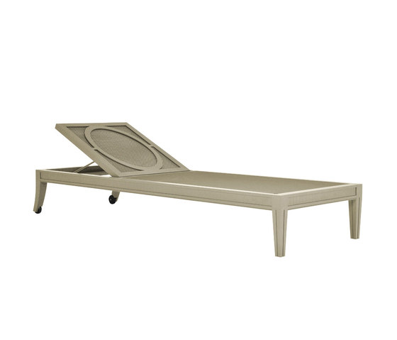 SAVANNAH CHAISE LOUNGE by JANUS et Cie | Sun loungers