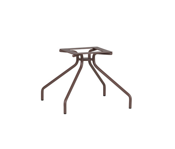 Weave BASE COFEE TABLE 4 LEGS by Point | Trestles