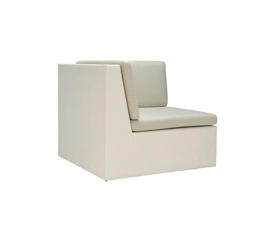 SEE! CLOSED MODULE CORNER by JANUS et Cie | Modular seating elements