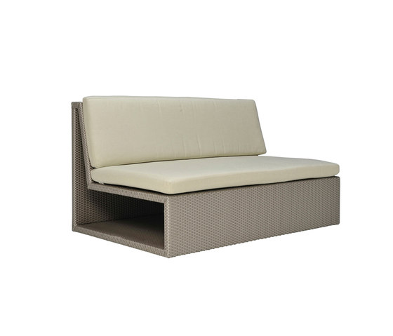 SEE! OPEN MODULE CENTER X WIDE by JANUS et Cie | Modular seating elements