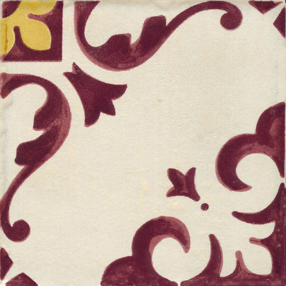 Jolie | Ivoire Purple Trama C/4 by Marca Corona | Floor tiles