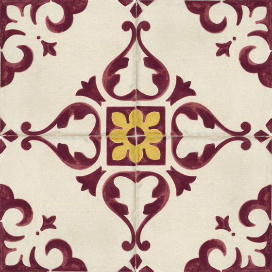Jolie | Ivoire Purple Trama C/4 by Marca Corona | Ceramic tiles