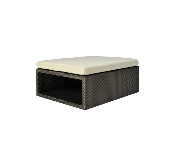 SEE! OPEN OTTOMAN / TABLE WIDE 92 by JANUS et Cie | Poufs