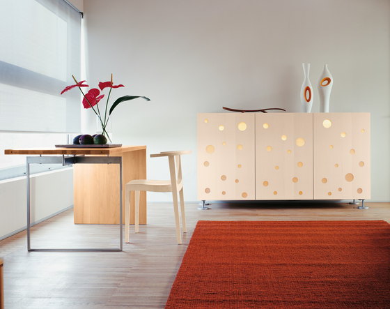 Polka Dots Full White by CASAMANIA & HORM | Sideboards