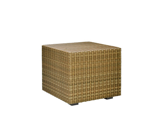 SEE! RATTAN CLOSED CUBE SIDE TABLE 48 by JANUS et Cie | Side tables