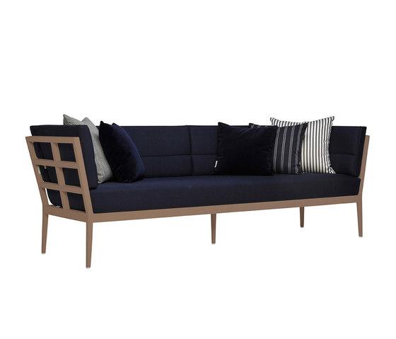 SLANT SOFA 3 SEAT by JANUS et Cie | Sofas