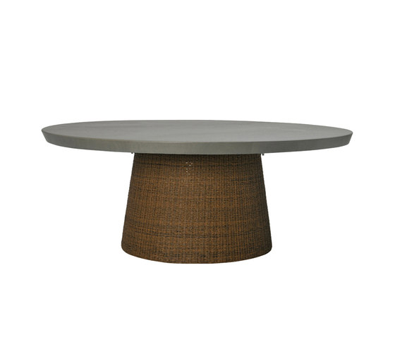STRADA STONE TOP DINING TABLE ROUND 180 by JANUS et Cie | Restaurant tables