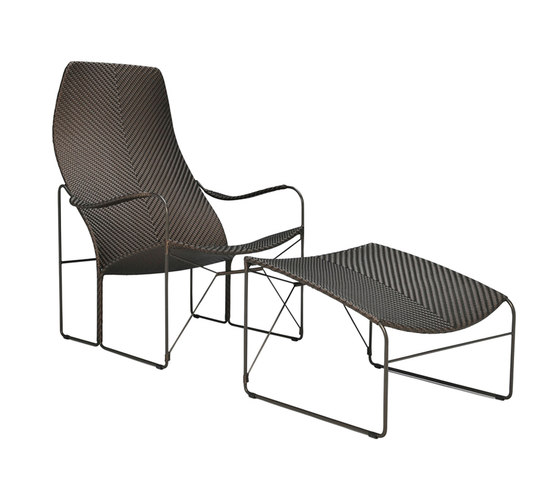 WHISKEY LOUNGE CHAIR + OTTOMAN by JANUS et Cie | Armchairs