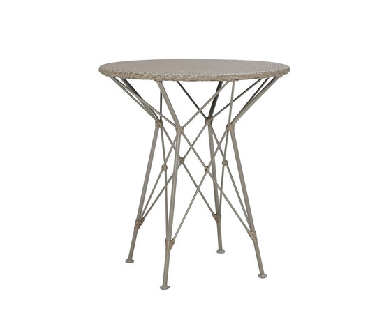 WHISK WOVEN TOP SIDE TABLE ROUND 52 by JANUS et Cie   Side tables