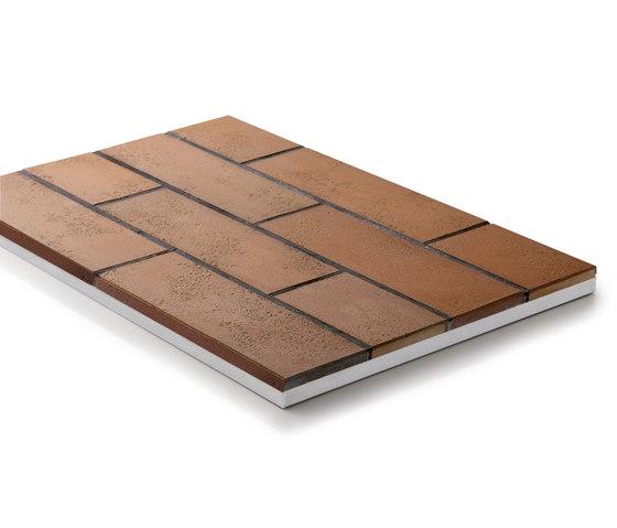 Panel GammaStone Brick AIR di GAMMASTONE | Sistemi facciate