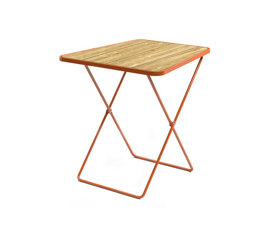 April Go folding table de Vestre   Mesas de bistro
