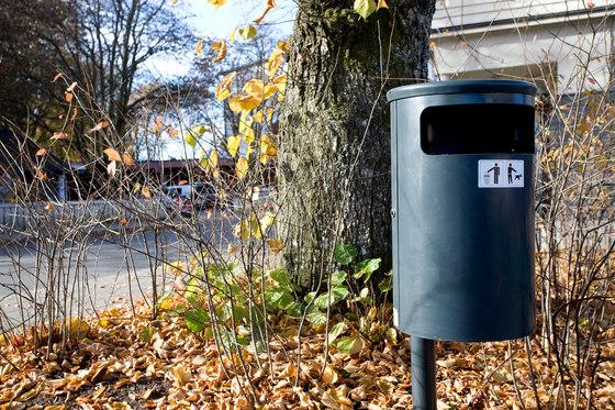 City litter bin de Vestre | Cubos basura / Papeleras