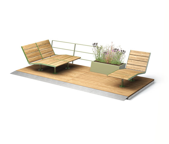 Parklet 2.0 by Vestre | Chairs