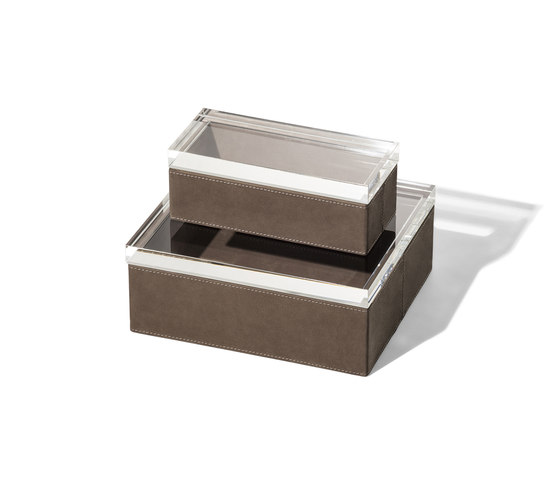 Gli Oggetti | Leather Case by Poltrona Frau | Storage boxes