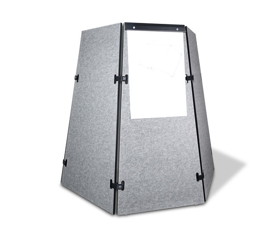 Acoustic shield tent de Westermann | Parois mobiles