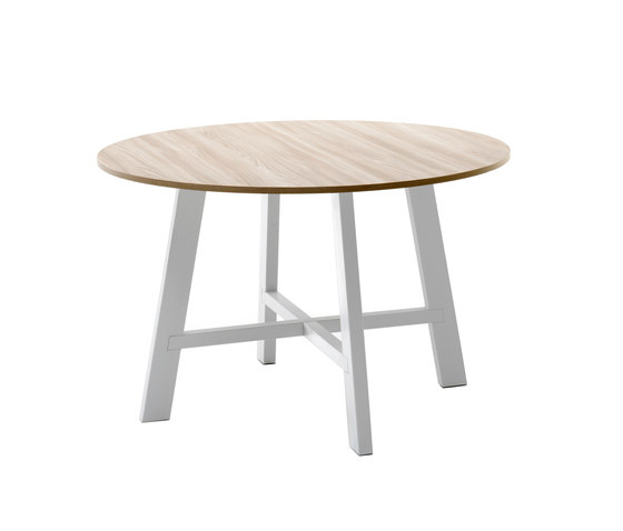 Thor Ø130 – Fixed table von Pointhouse | Esstische