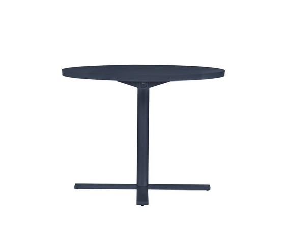 DUO CAFE TABLE ROUND 95 by JANUS et Cie | Dining tables