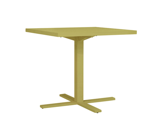 DUO CAFE TABLE SQUARE 78 by JANUS et Cie | Dining tables