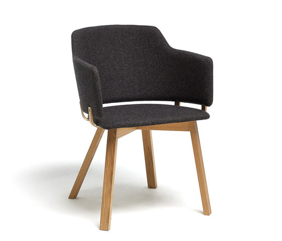 Skift Plus Wood de David design | Chaises