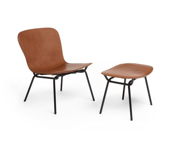 Hammock Lounge + Pouf by David design | Armchairs
