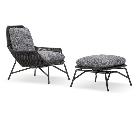 Prince Cord Outdoor by Minotti | Armchairs