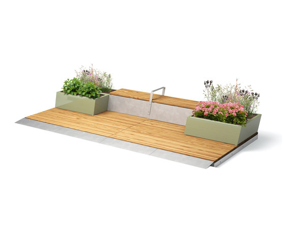 Parklet 2.0 by Vestre | Benches