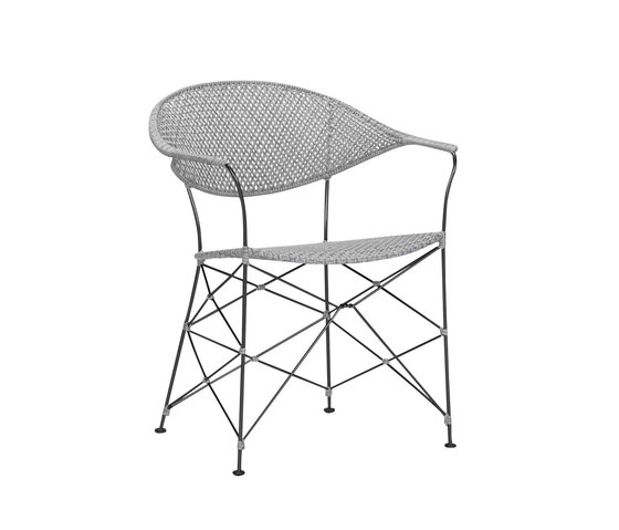 WHISK RATTAN ARMCHAIR by JANUS et Cie | Chairs