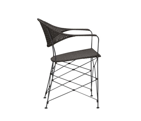 WHISK RATTAN ARMCHAIR by JANUS et Cie   Chairs