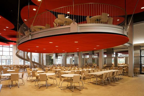 Stereo acoustic panels_Bespoke projects by Texaa® | Suspended ceilings