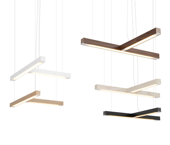 "Led40 ""T"" Pendant by TUNTO Lighting 