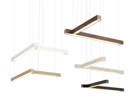 """Led40 """"L"""" Pendant by TUNTO Lighting 