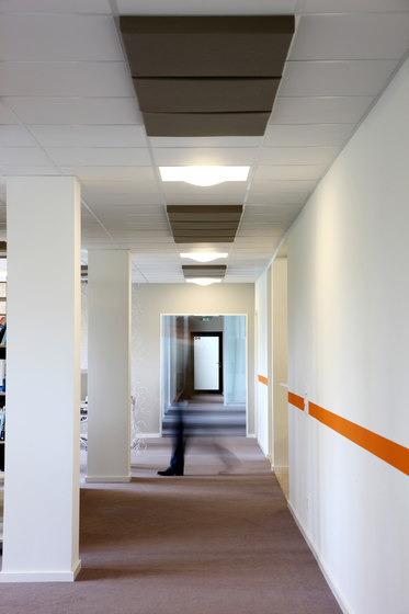 Abso acoustic pads by Texaa® | Acoustic ceiling systems
