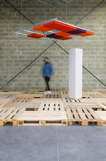 Abso coussins acoustiques de Texaa® | Plafonds acoustiques