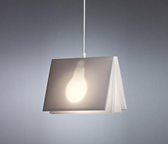 "HLVW96 ""Booklight"" by Tecnolumen   Suspended lights"