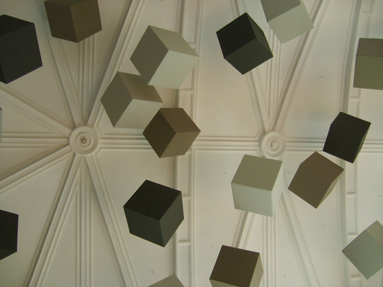Abso acoustic cubes by Texaa® | Sound absorbing suspended panels