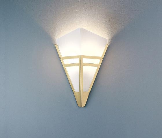 WAD36 Art Déco Wall lamp di Tecnolumen | Lampade parete