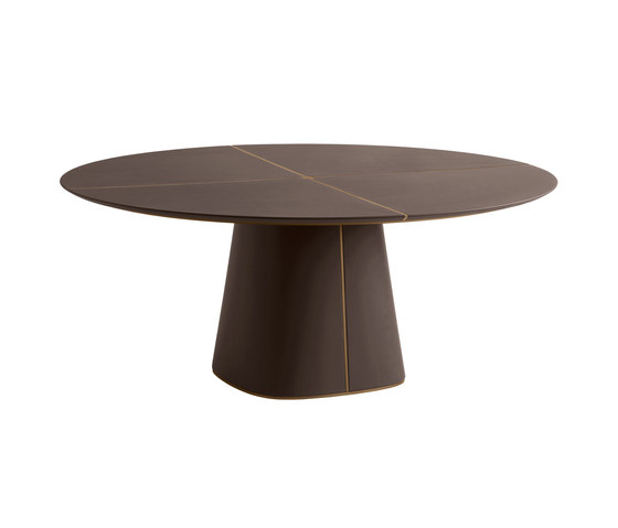 Artu' | Leather Top by Frag | Dining tables