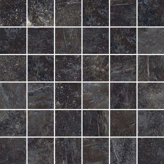 Ardesie Dark | Mosaico von Rondine | Keramik Mosaike