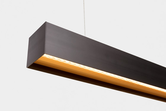 Drupl70 straight office compliant by Modular Lighting Instruments | Suspended lights