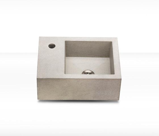 dade CASSA 30 concrete sink by Dade Design AG concrete works Beton | Wash basins