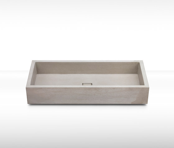 dade ELEMENT 90 concrete sink by Dade Design AG concrete works Beton | Wash basins