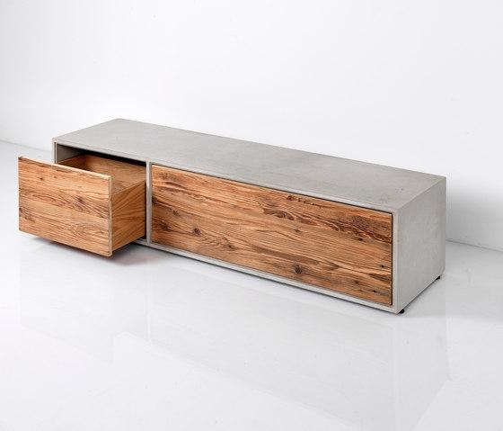dade LOWBOARD de Dade Design AG concrete works Beton | Aparadores
