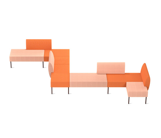 Nestor Orange by Skandiform | Sofas