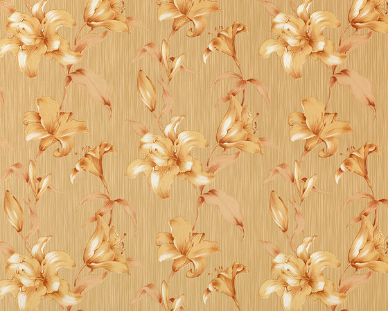 STATUS - Flower wallpaper EDEM 978-36 by e-Delux | Wall coverings / wallpapers