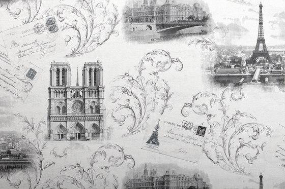 STATUS - Papel pintado París EDEM 9050-10 de e-Delux | Revestimientos de paredes / papeles pintados