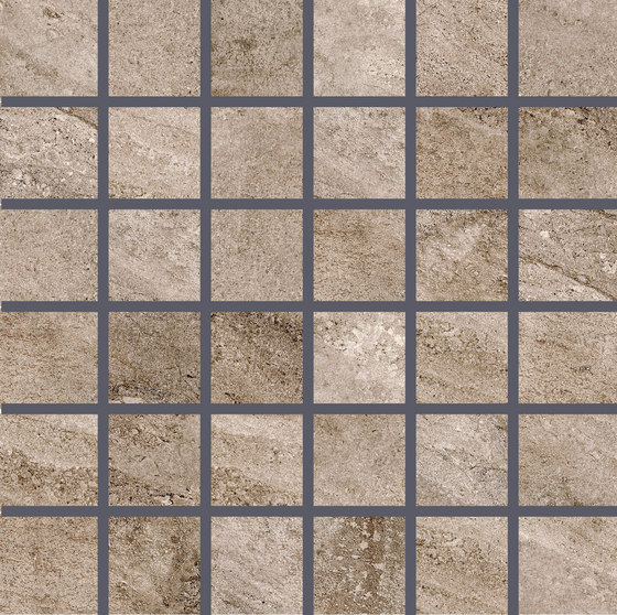 Class Taupe | Mosaico by Rondine | Ceramic mosaics