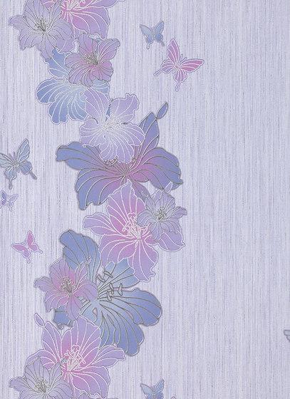 Versailles - Papel pintado flores EDEM 108-34 de e-Delux | Revestimientos de paredes / papeles pintados